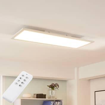 Arcchio Lysander panel LED, CCT, 79 cm, blanco