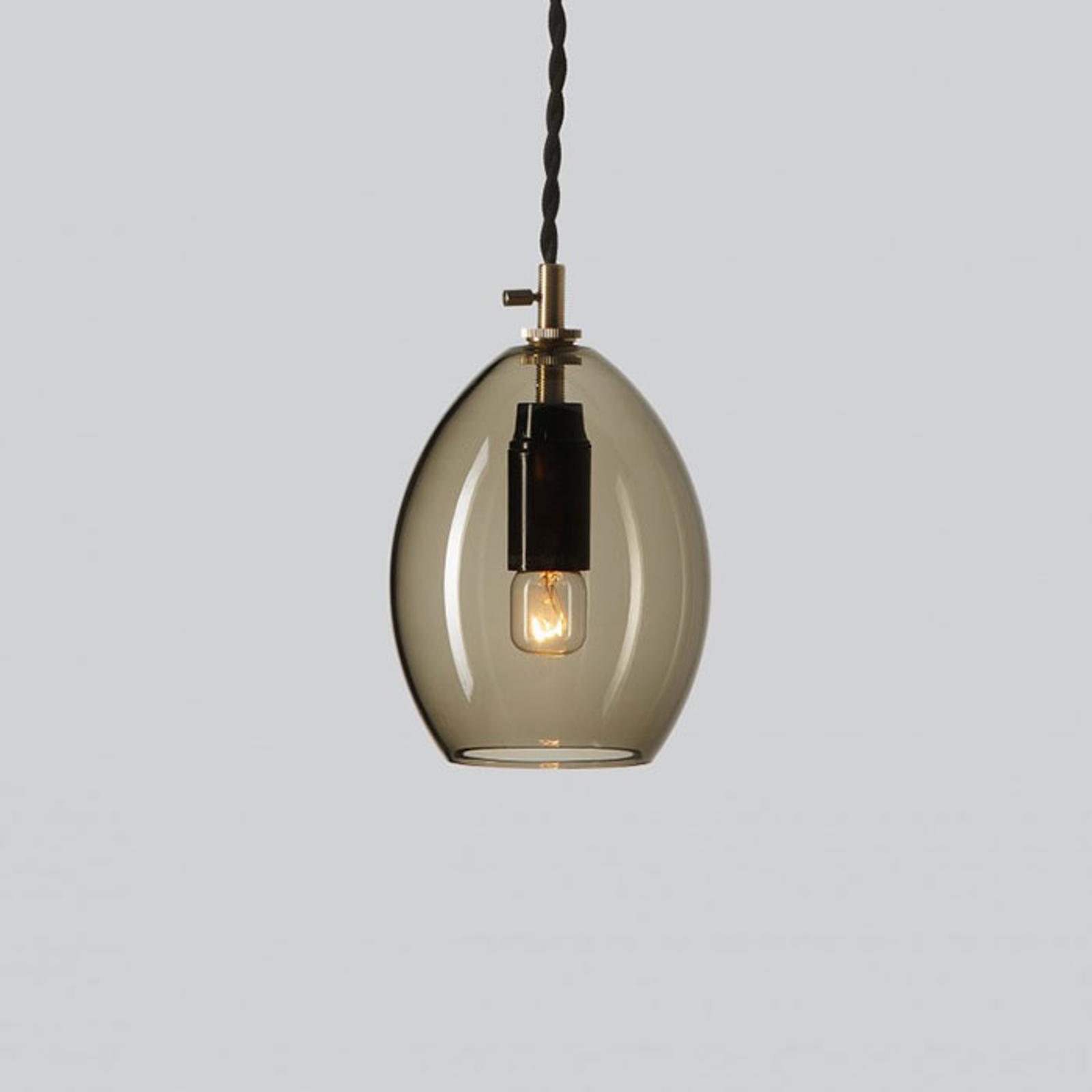 Northern Unika hanglamp rookgrijs, small