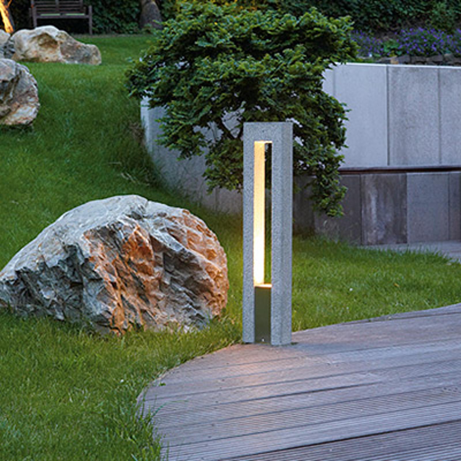 Borne lumineuse Arrock Arc en granite