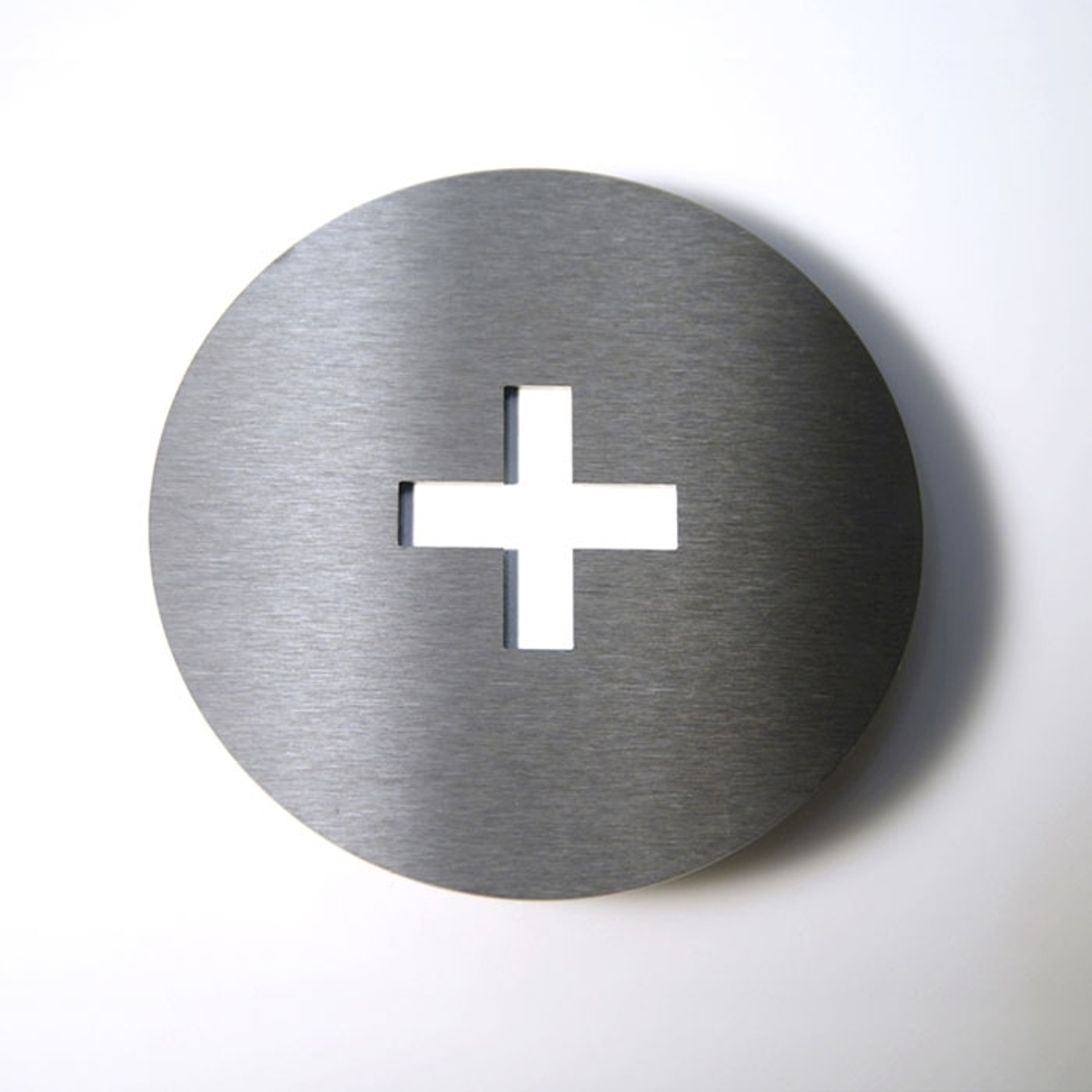 Stainless steel house number Round_1057089_1