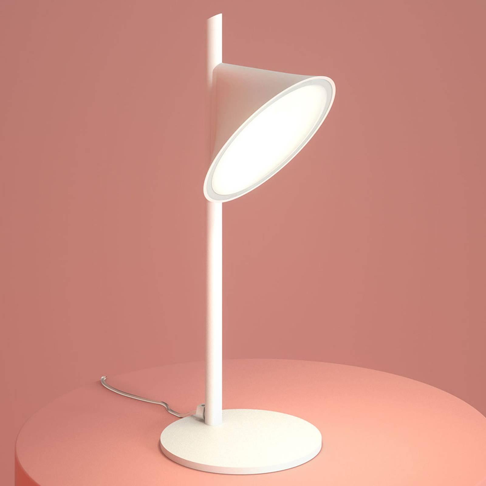 Axolight Orchid LED-Tischleuchte, weiß