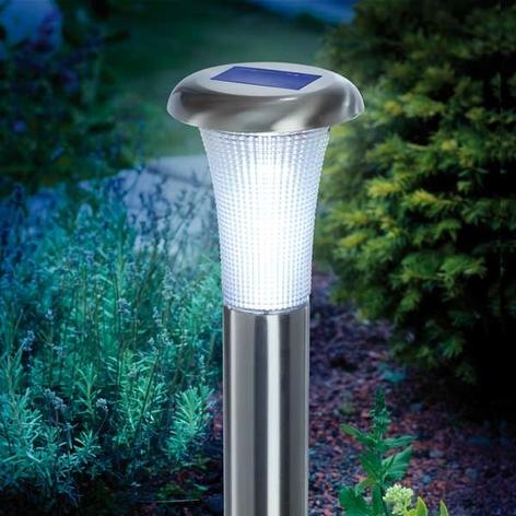 VESUV-aurinkokennovalaisin LED ruostumaton teräs