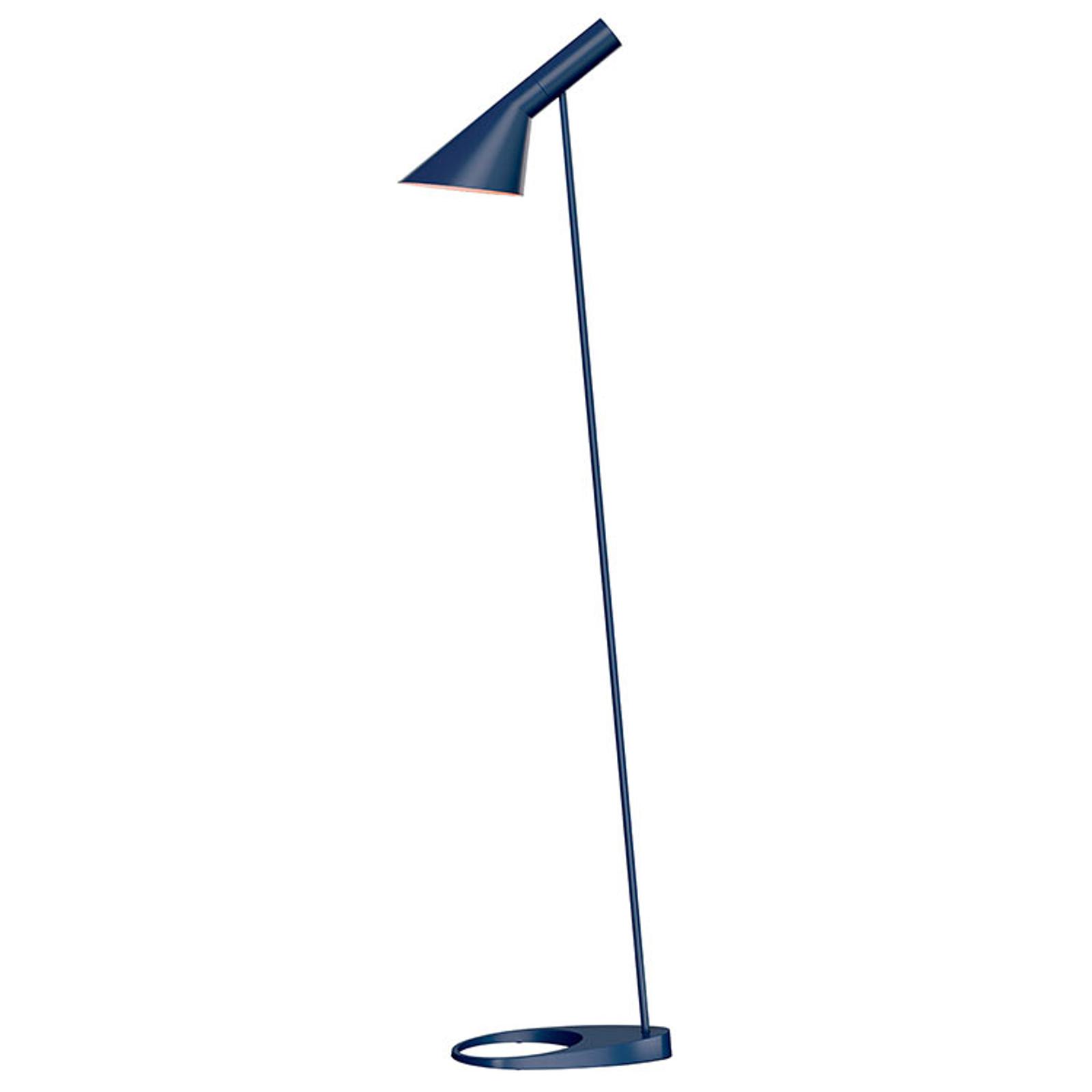 Louis Poulsen AJ - vloerlamp, middernachtblauw