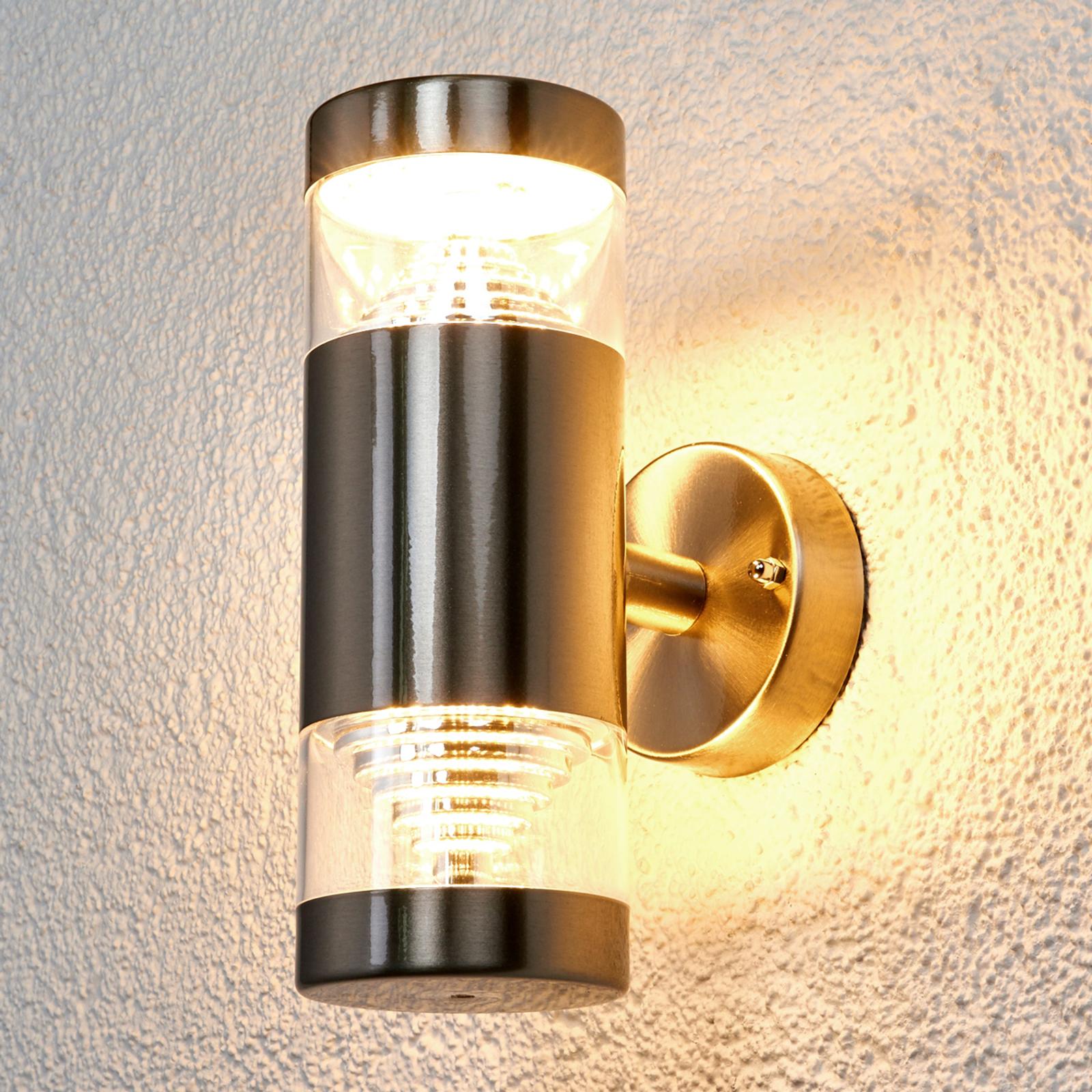 2-Punkts LED-utevegglampe Lanea