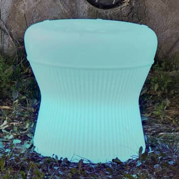 Newgarden Corfu -LED-aurinko-jakkara 40 cm, akku
