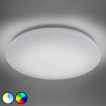Trio WiZ Charly -LED-kattolamppu, kristallitehoste
