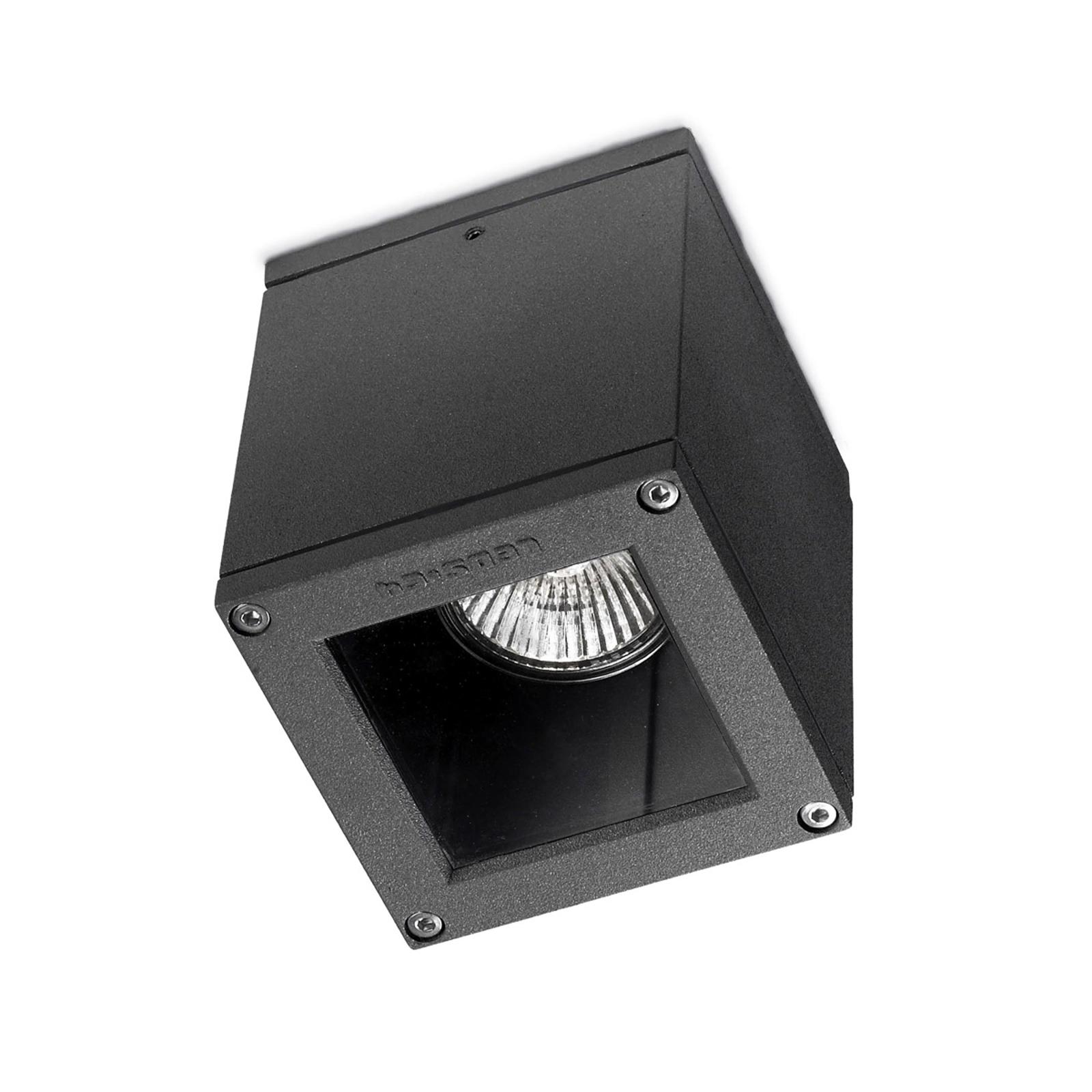 Mała lampa sufitowa zewnętrzna AFRODITA, antracyt