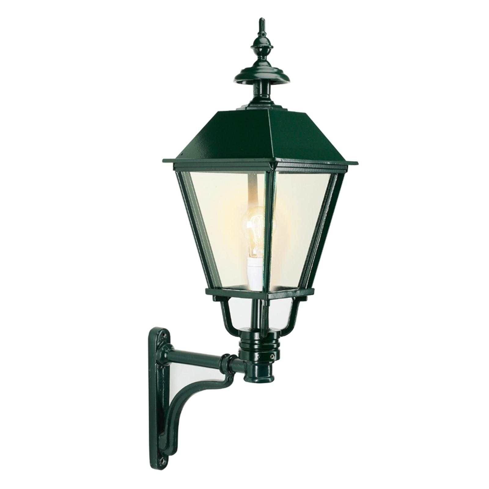 Klassieke buitenwandlamp Eemnes, groen