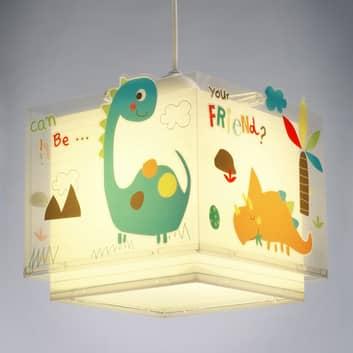 Colorata lampada a sospensione per bambini Dinos