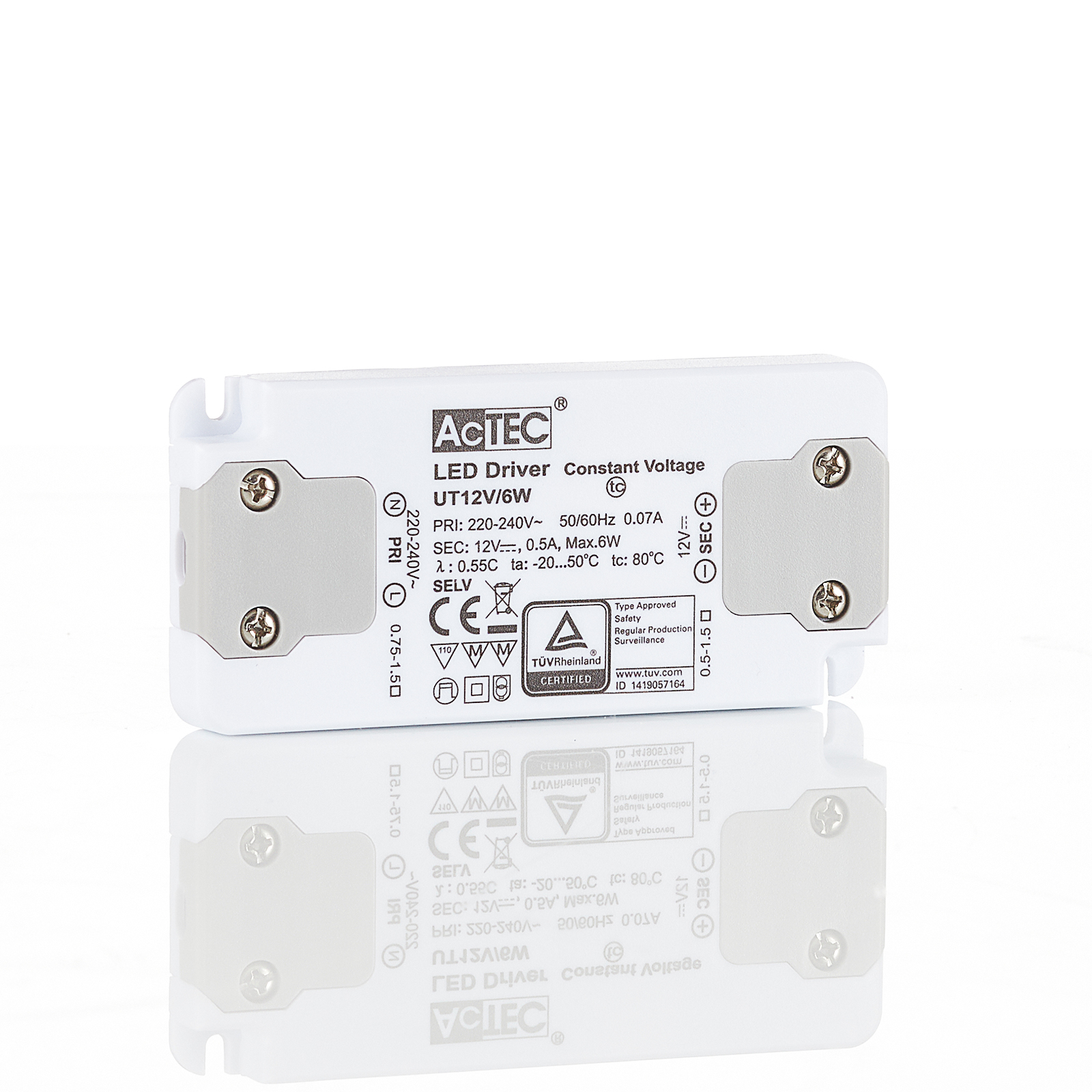 AcTEC Slim LED-Treiber CV 12V, 6W