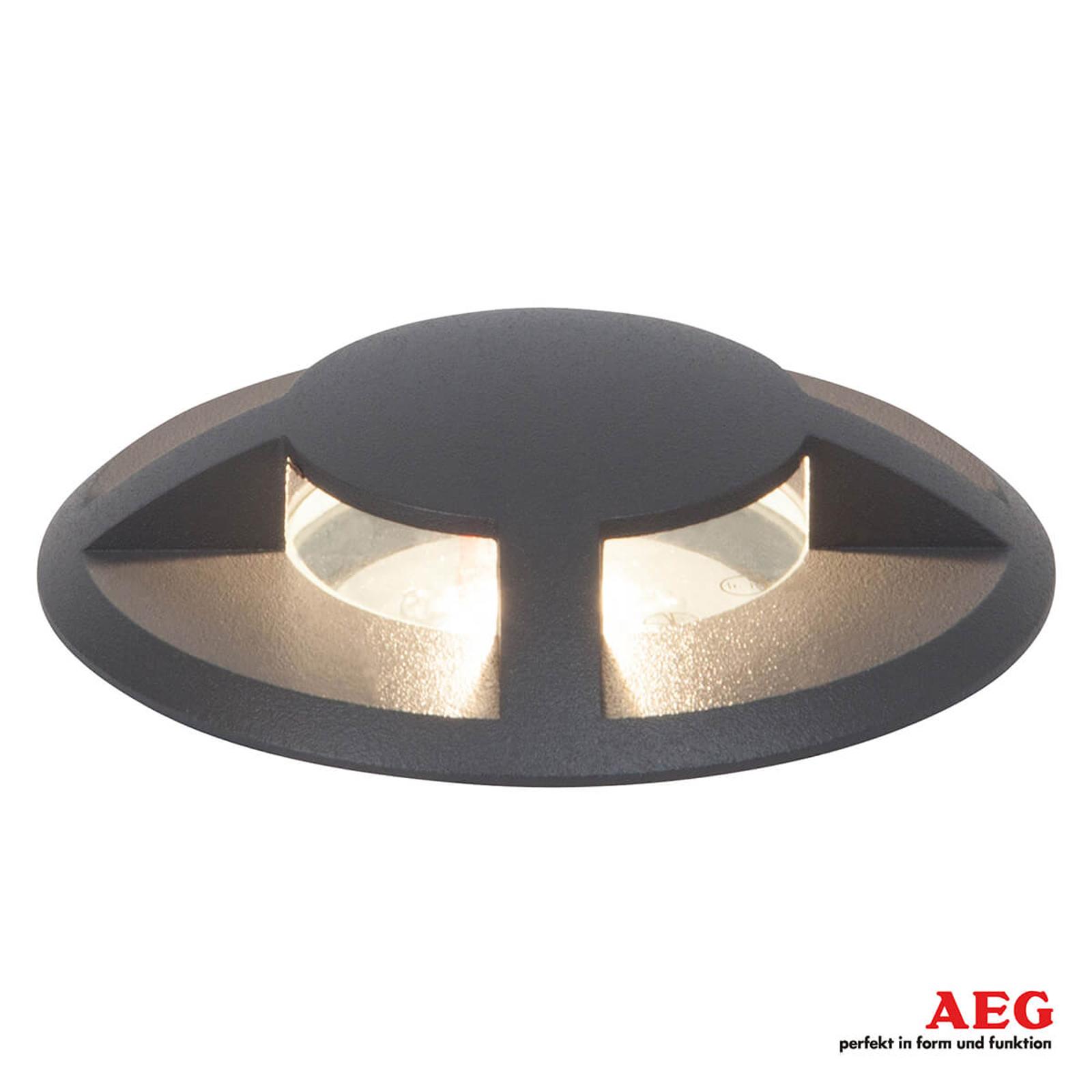AEG Tritax - LED-maaspotti, neljälle sivulle