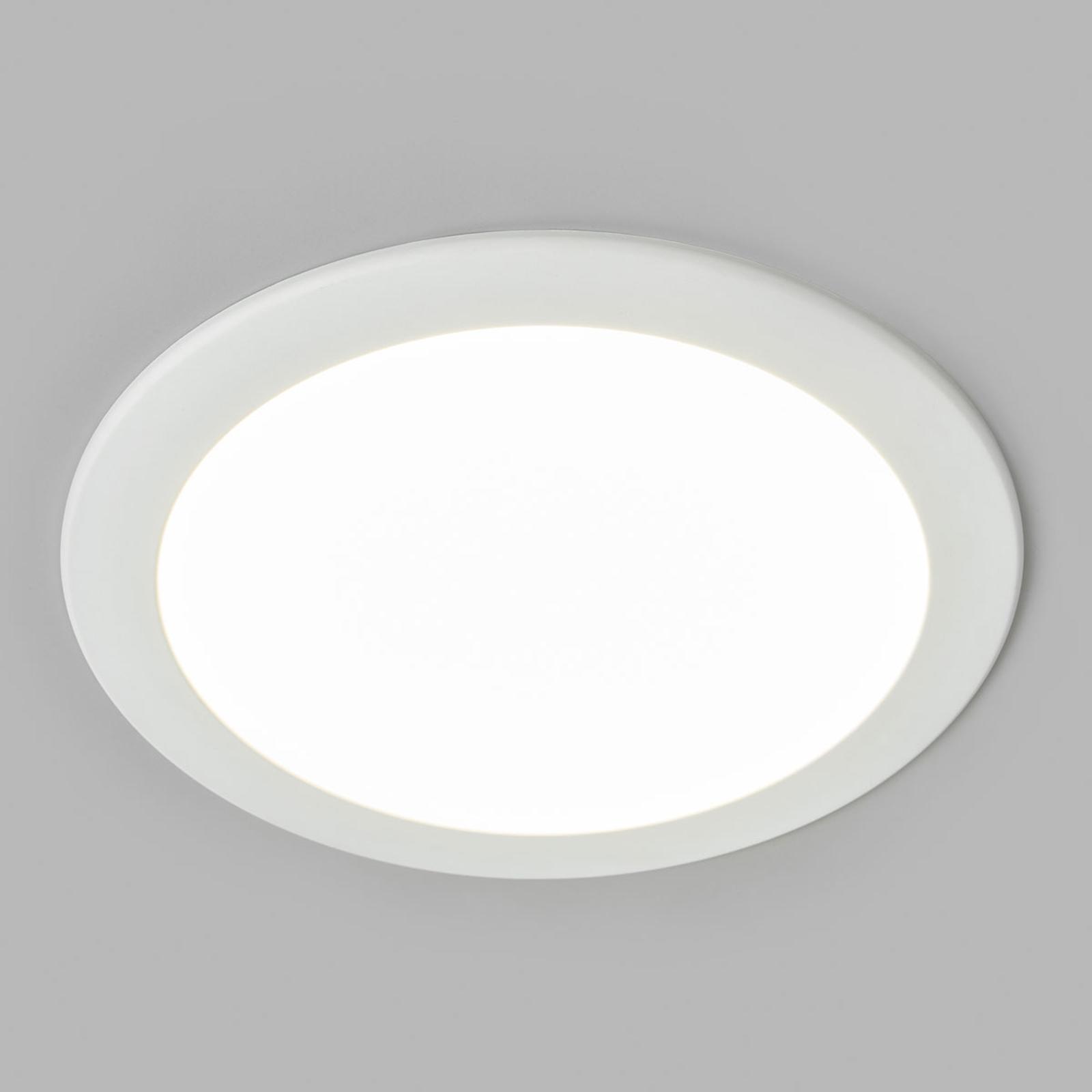 LED-inbyggnadsspot Joki vit 4000K rund 24cm