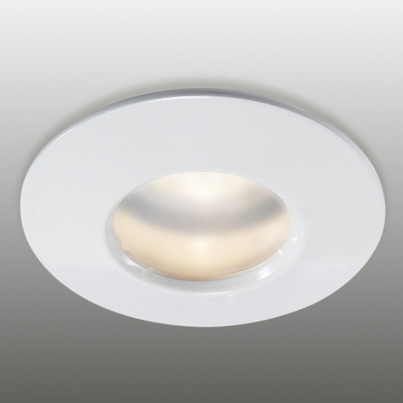 Stabilný zapustený prstenec biely