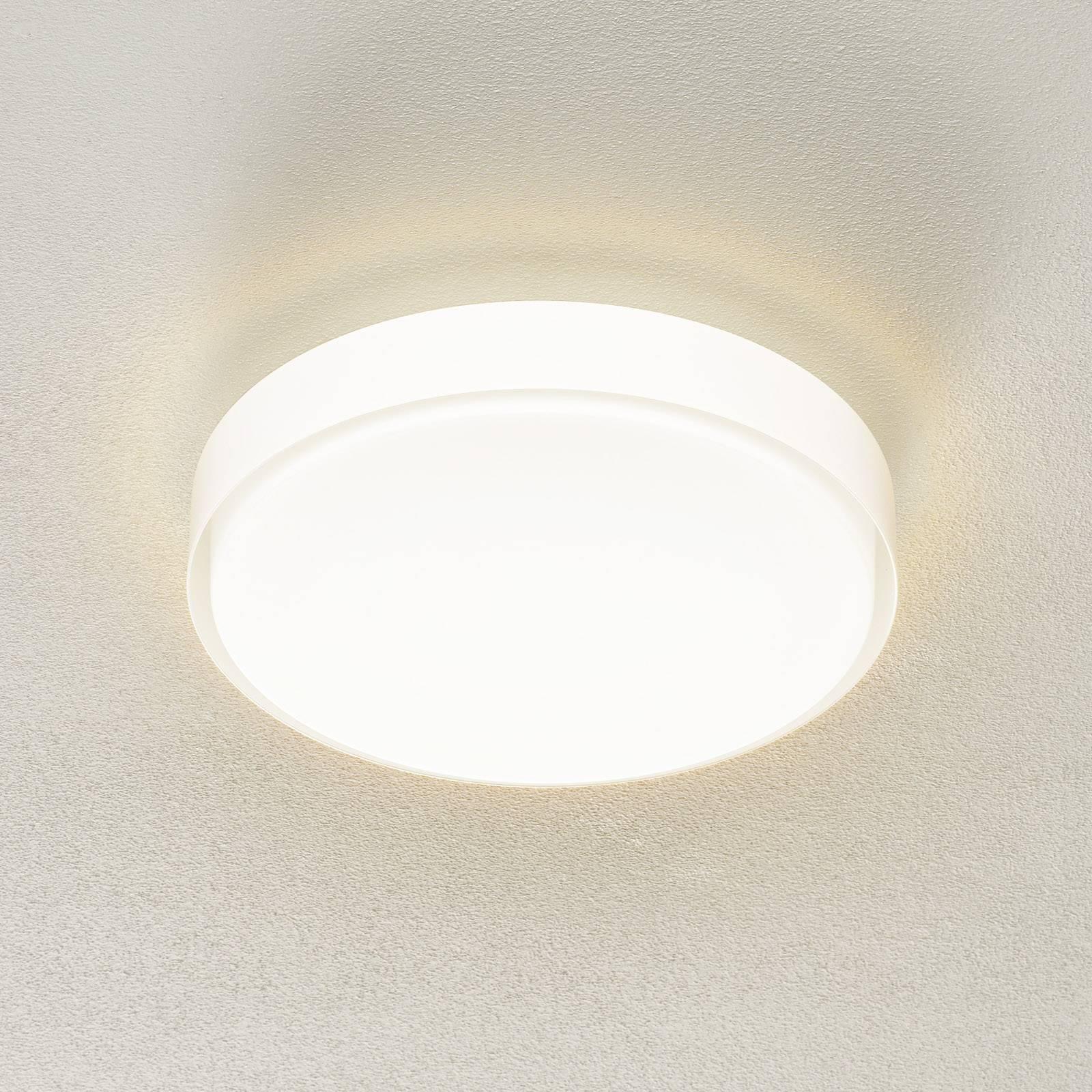 BEGA 34278 LED-Deckenleuchte, weiß, Ø 36 cm, DALI
