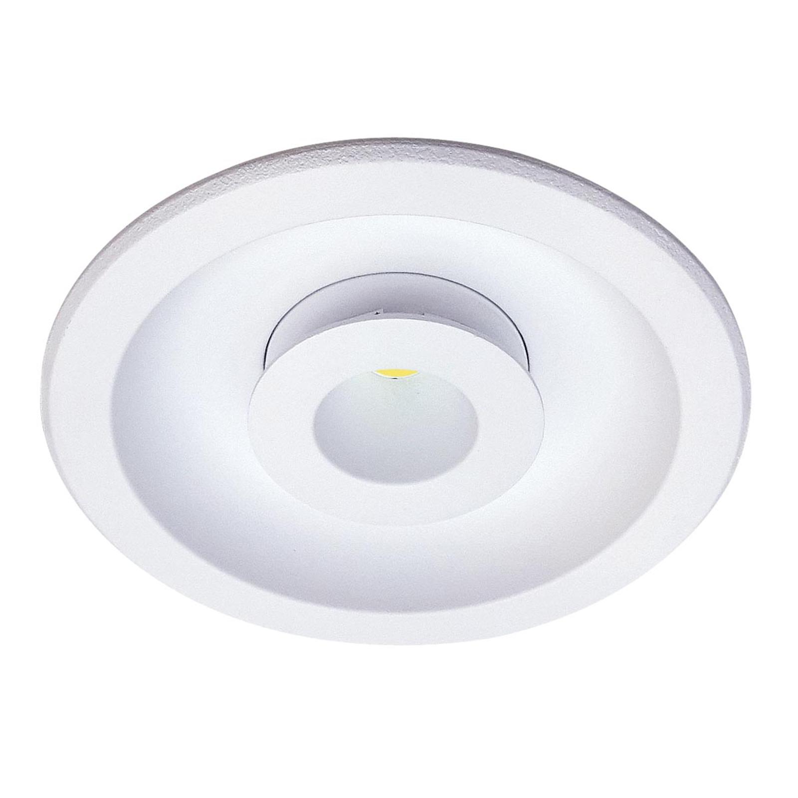 LED-Einbauleuchte Meto mit Lichtwechselfunktion