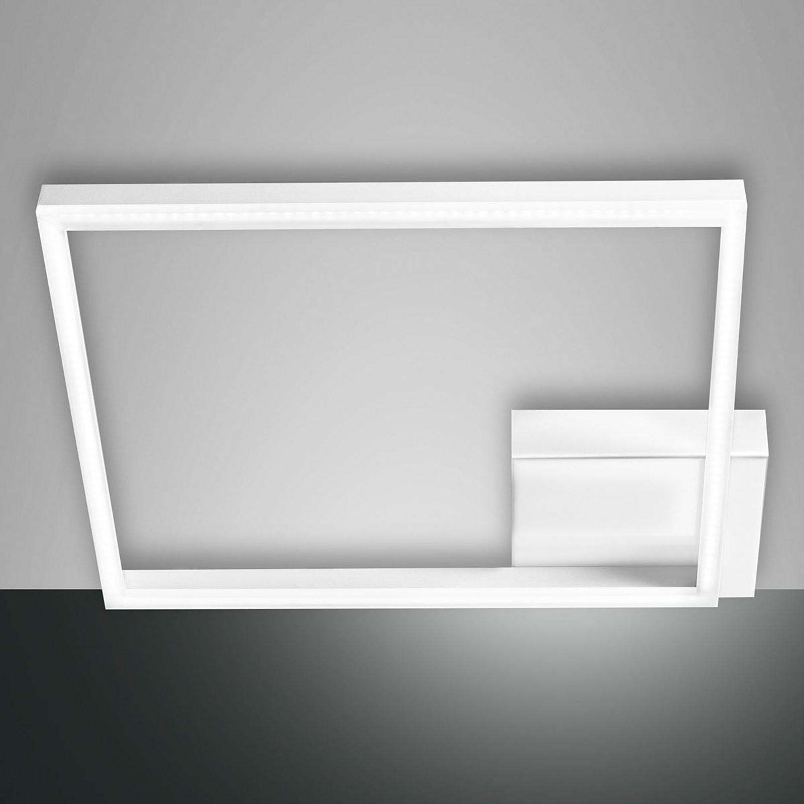 Vierkante LED plafondlamp Bard met één lampje