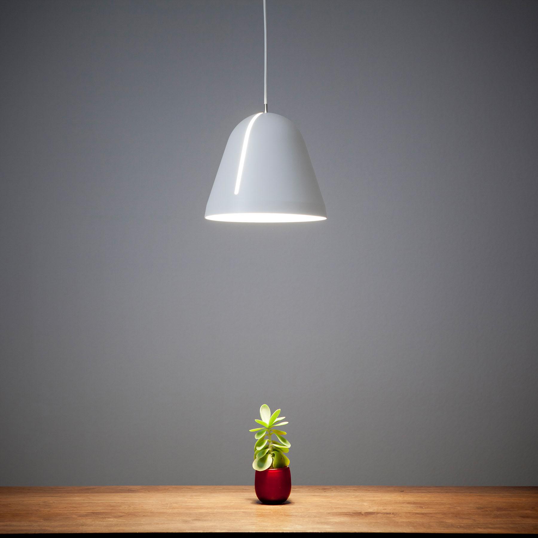 Nyta Tilt lampa wisząca, kabel 3m biały, biała