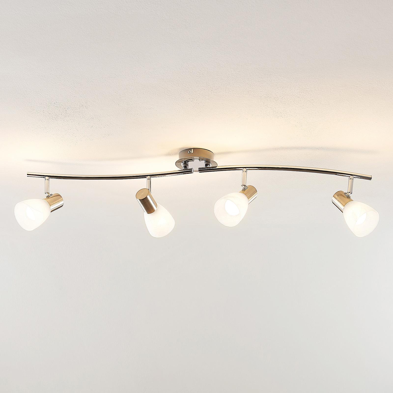 ELC Kamiran LED-takspot, fire lyskilder