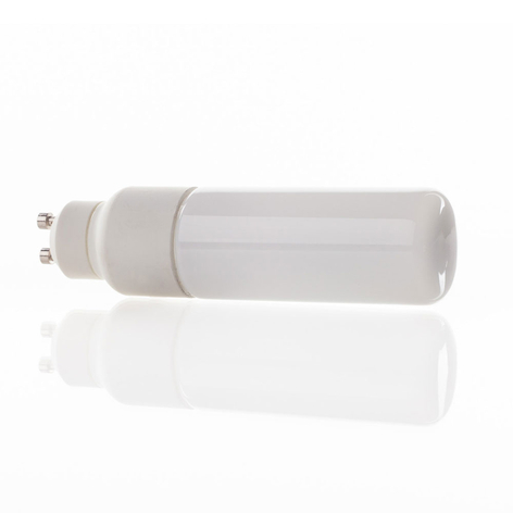 Lámpara LED GU10 5W con forma tubular