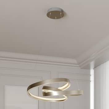 Lucande Gunbritt lámpara colgante LED, 60 cm