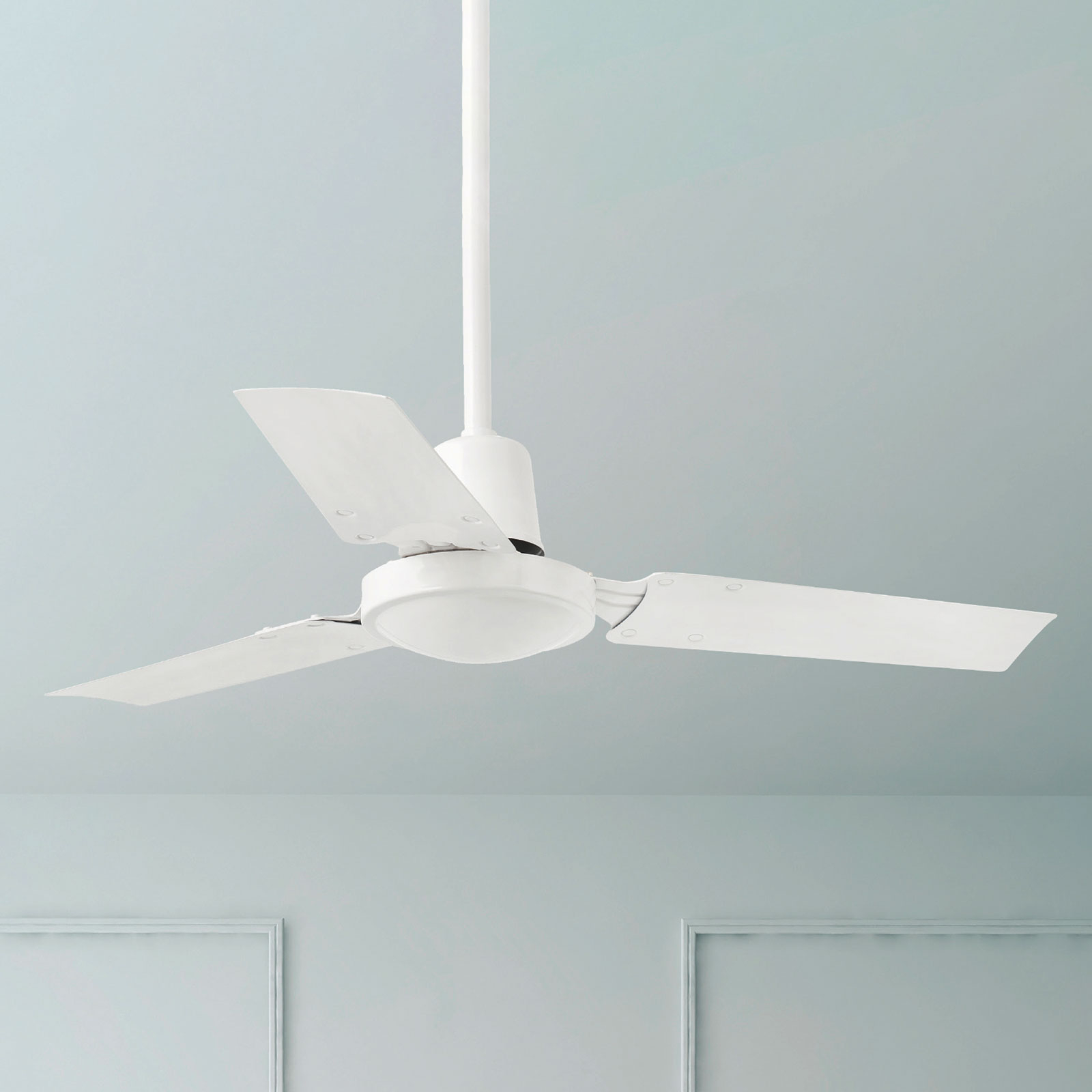 Malý, moderní stropní ventilátor MINI INDUS