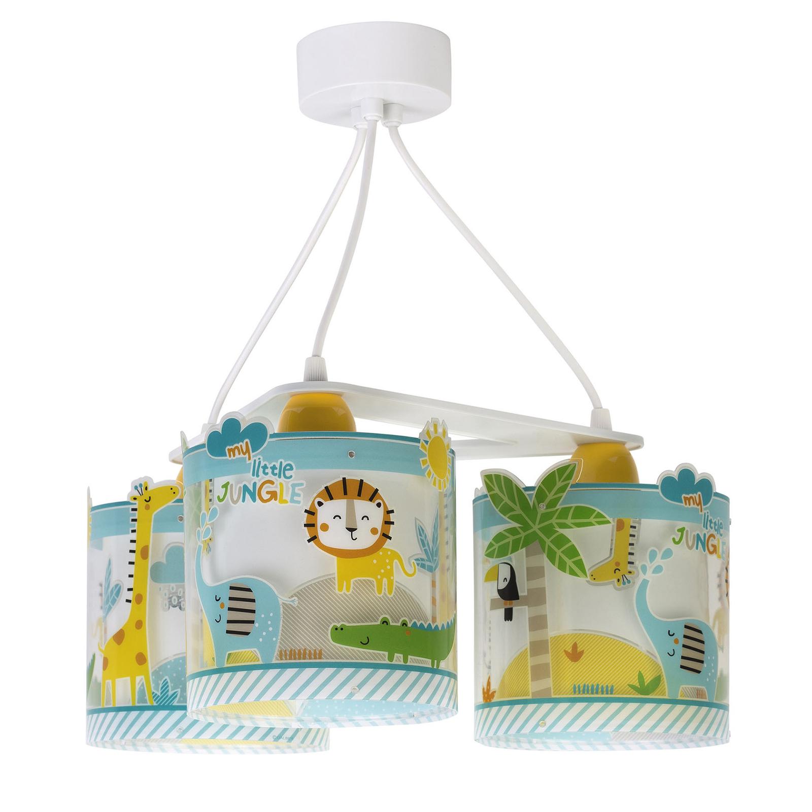 Suspension pour enfants Little Jungle, à 3 lampes