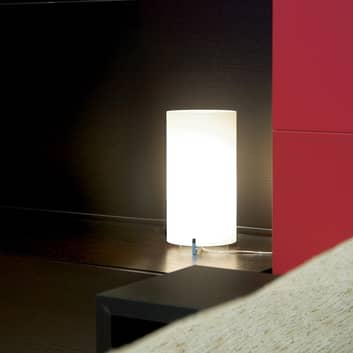 Prandina CPL Smal T1 bordslampa krom, glas opal
