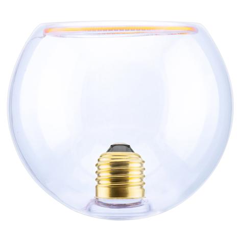 SEGULA LED-Floating-Globe 125 E27 8W klar inside
