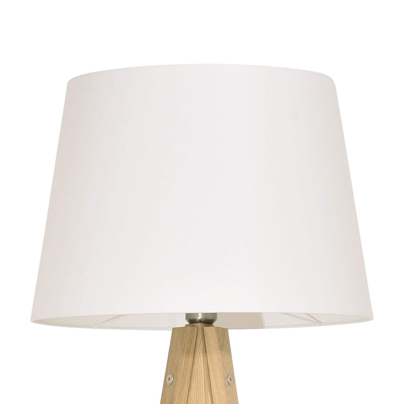 Erlkönig Prinz lampad. chêne nat., abat-jour blanc