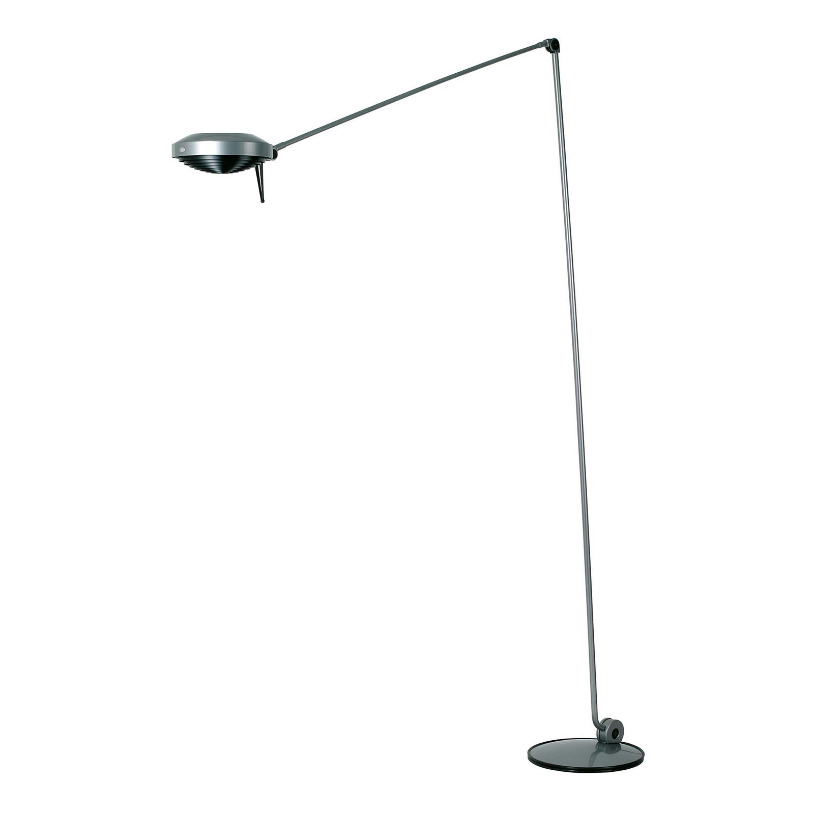 Lumina Elle LED-Stehlampe Höhe200cm 3.000K nickel