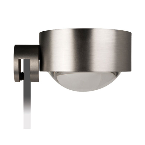 Lampada LED pinza specchio Puk Fix