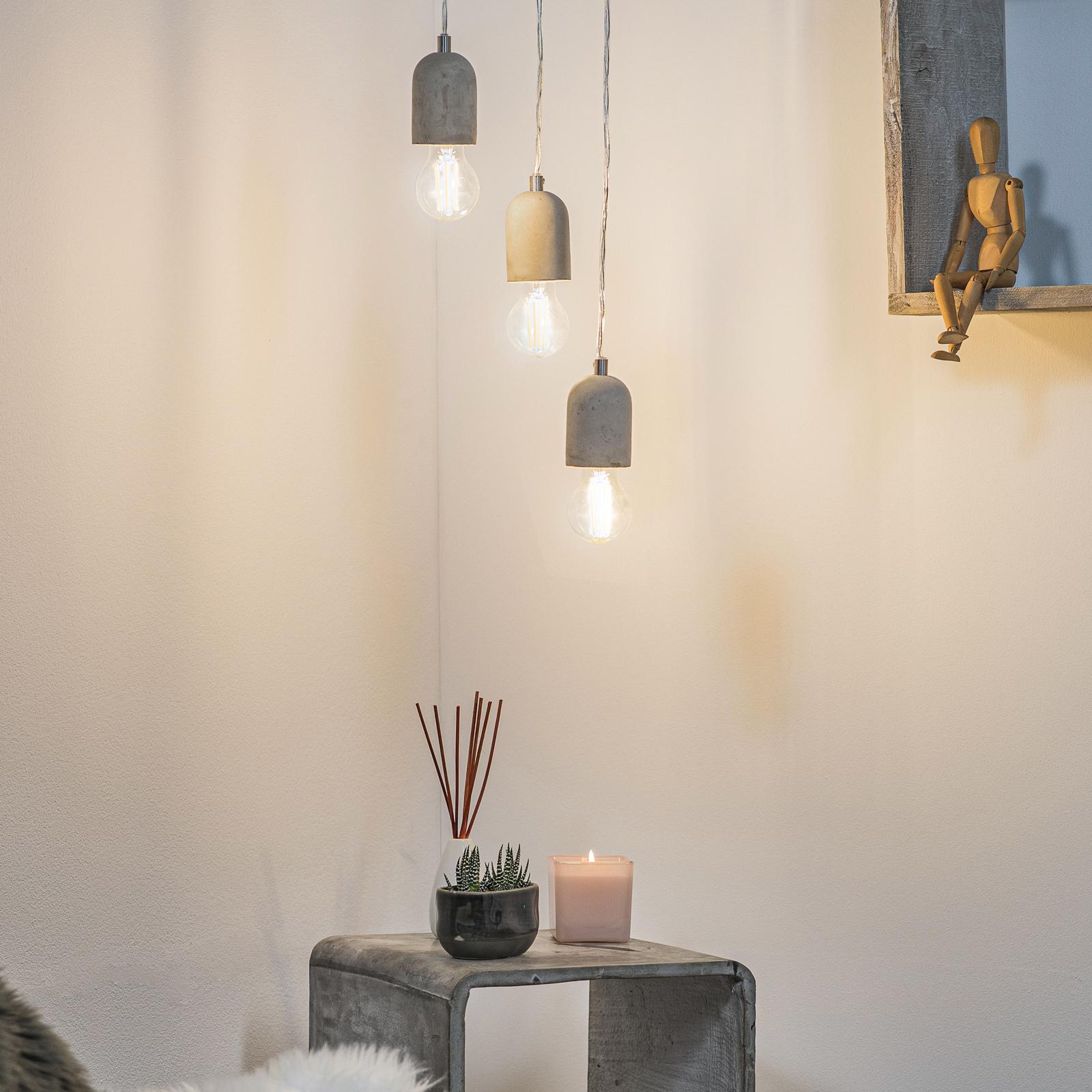Suspension au design minimaliste Silvares