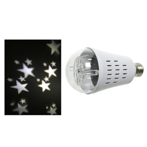Żarówka projektor gwiazdek LED E27