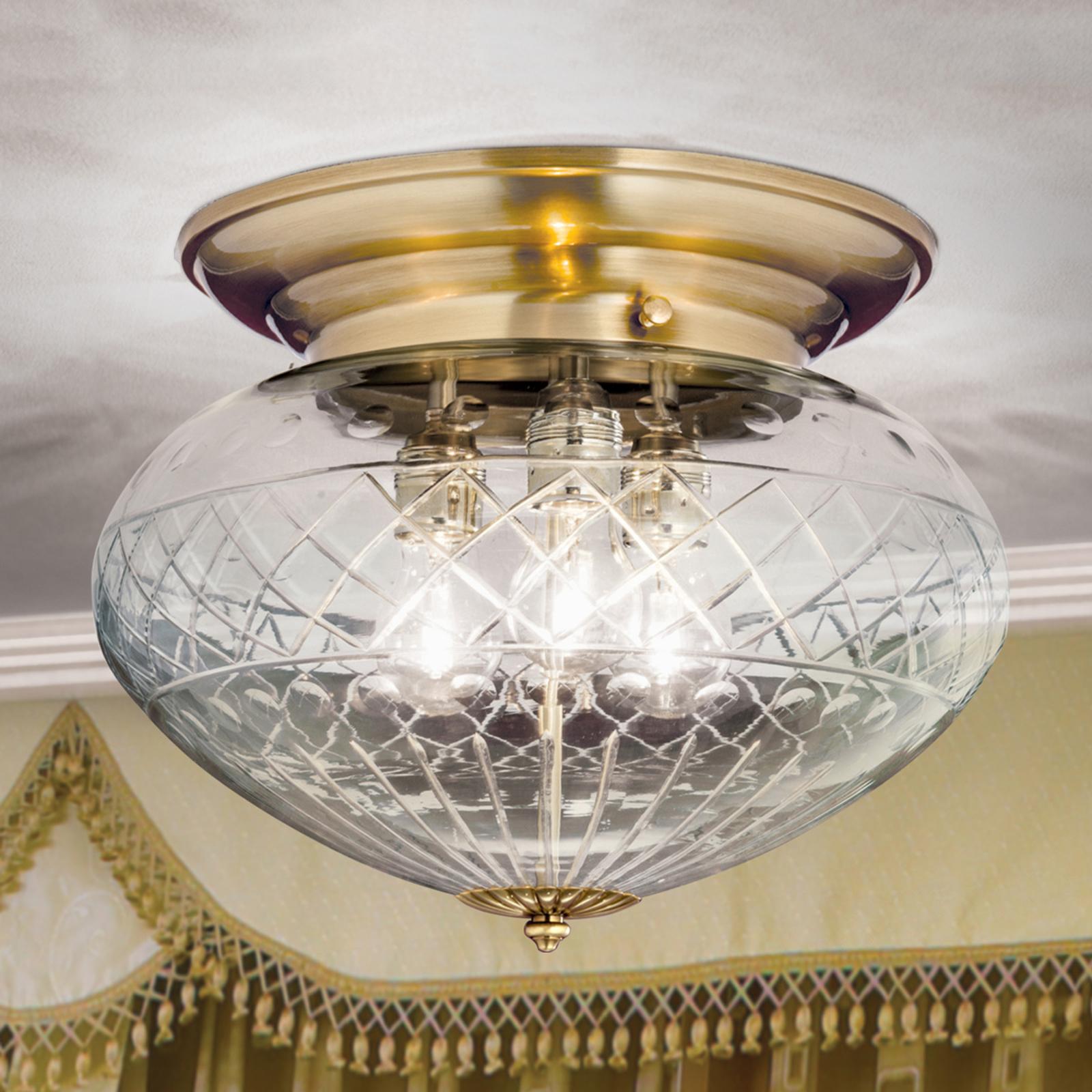 ENNA - esthetische plafondlamp, diameter 40 cm