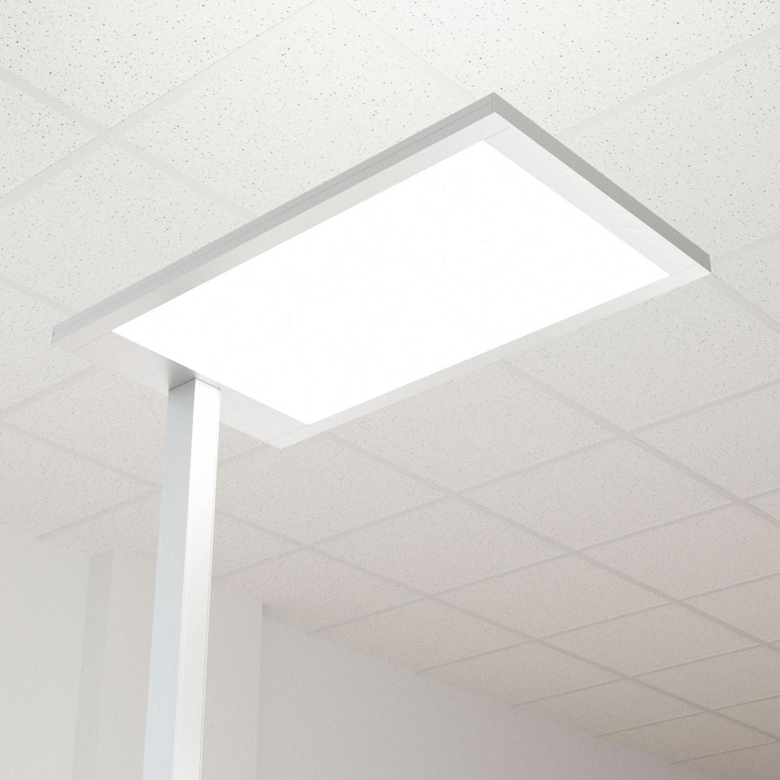 LED kontor-gulvlampe Javier, dæmper, dir-indirekte