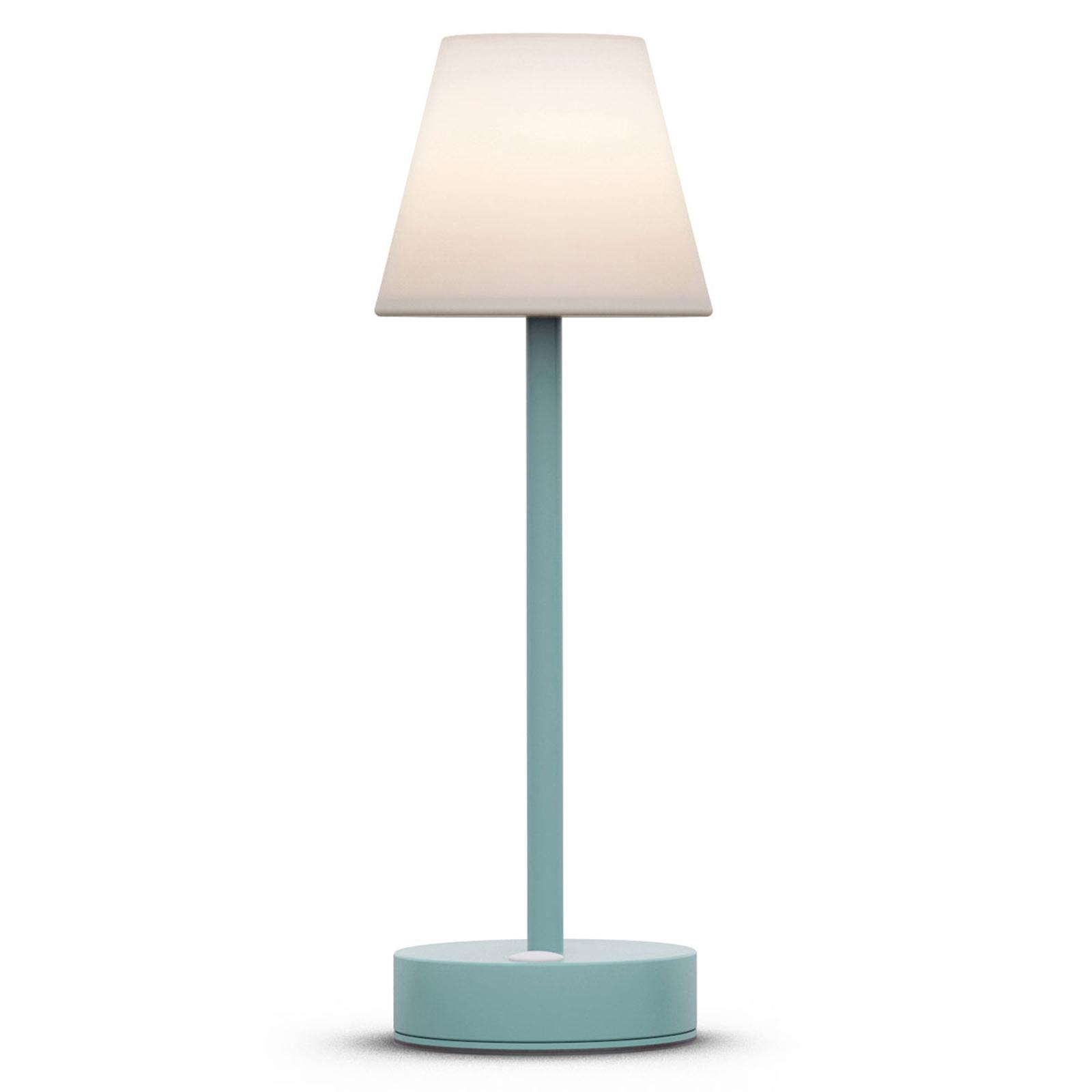 Newgarden Lola Slim LED da tavolo accu, mint