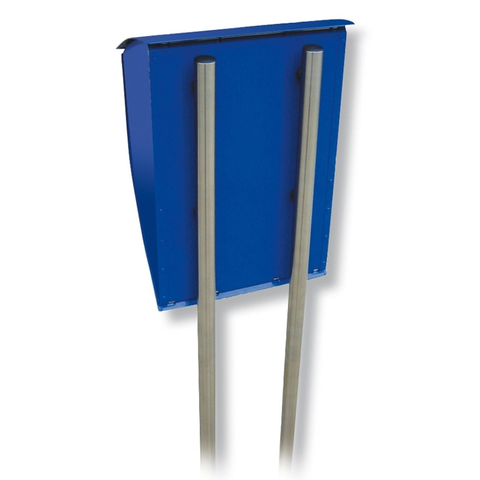 Letter box stand Universal 150, stainless steel