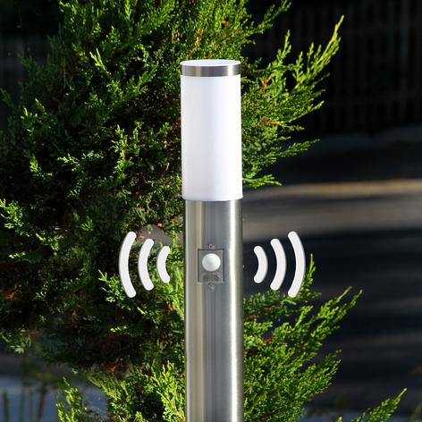 Kristof - éclairage pour chemin inox avc détecteur