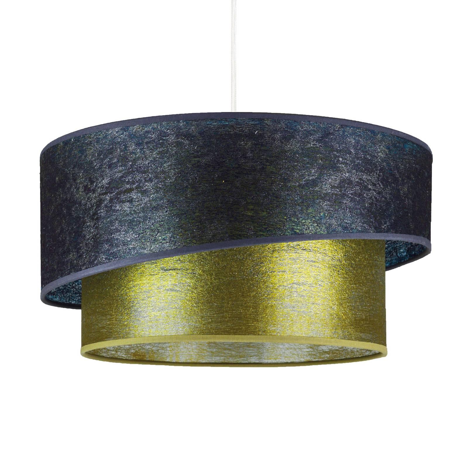 Lampa wisząca Shine, grafit/złota