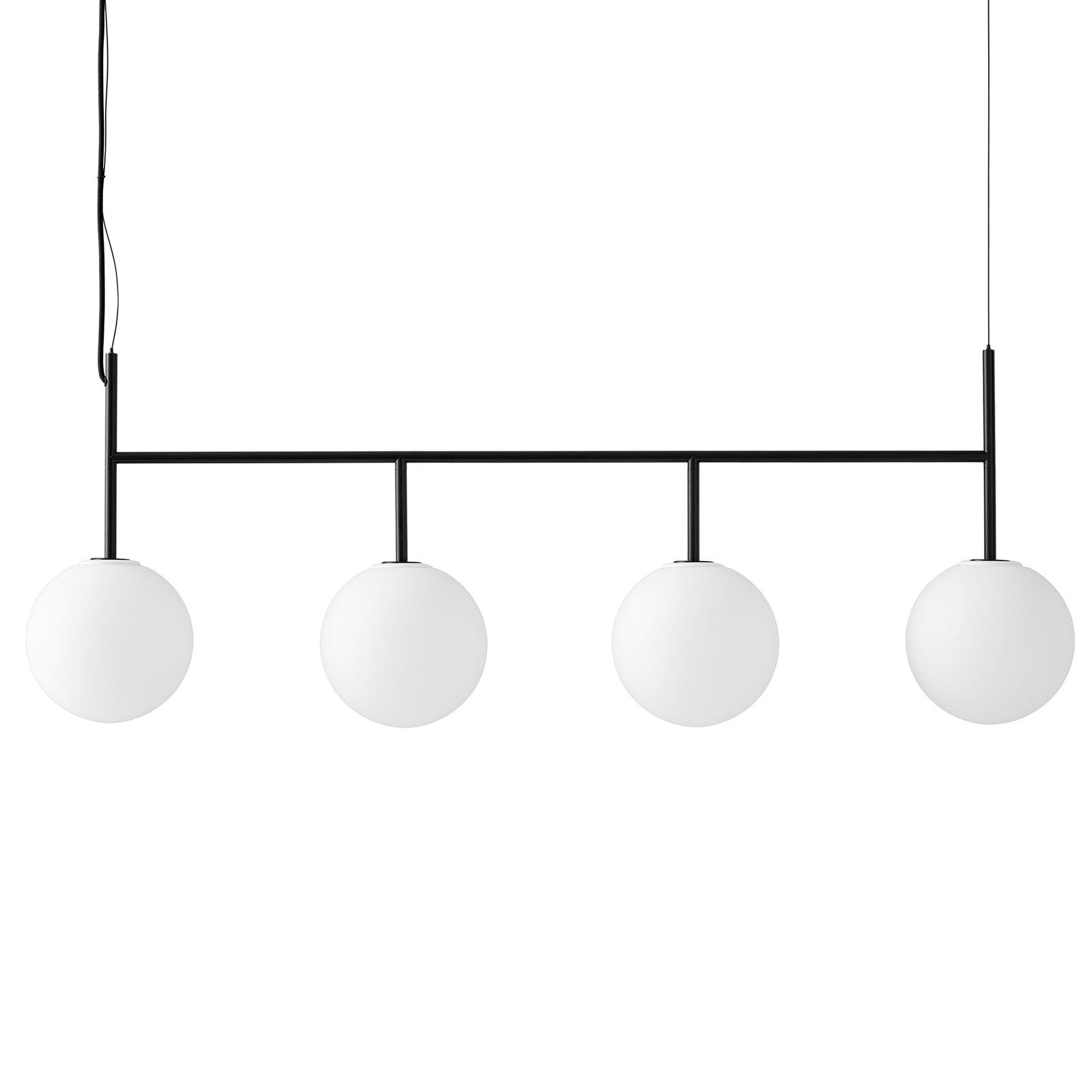 Menu TR Bulb DTW suspension LED 4l noire/opale mat