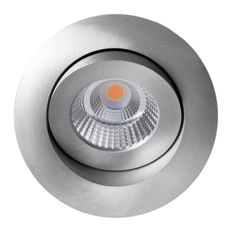 Quick Install Allround 360° spot aluminium dim
