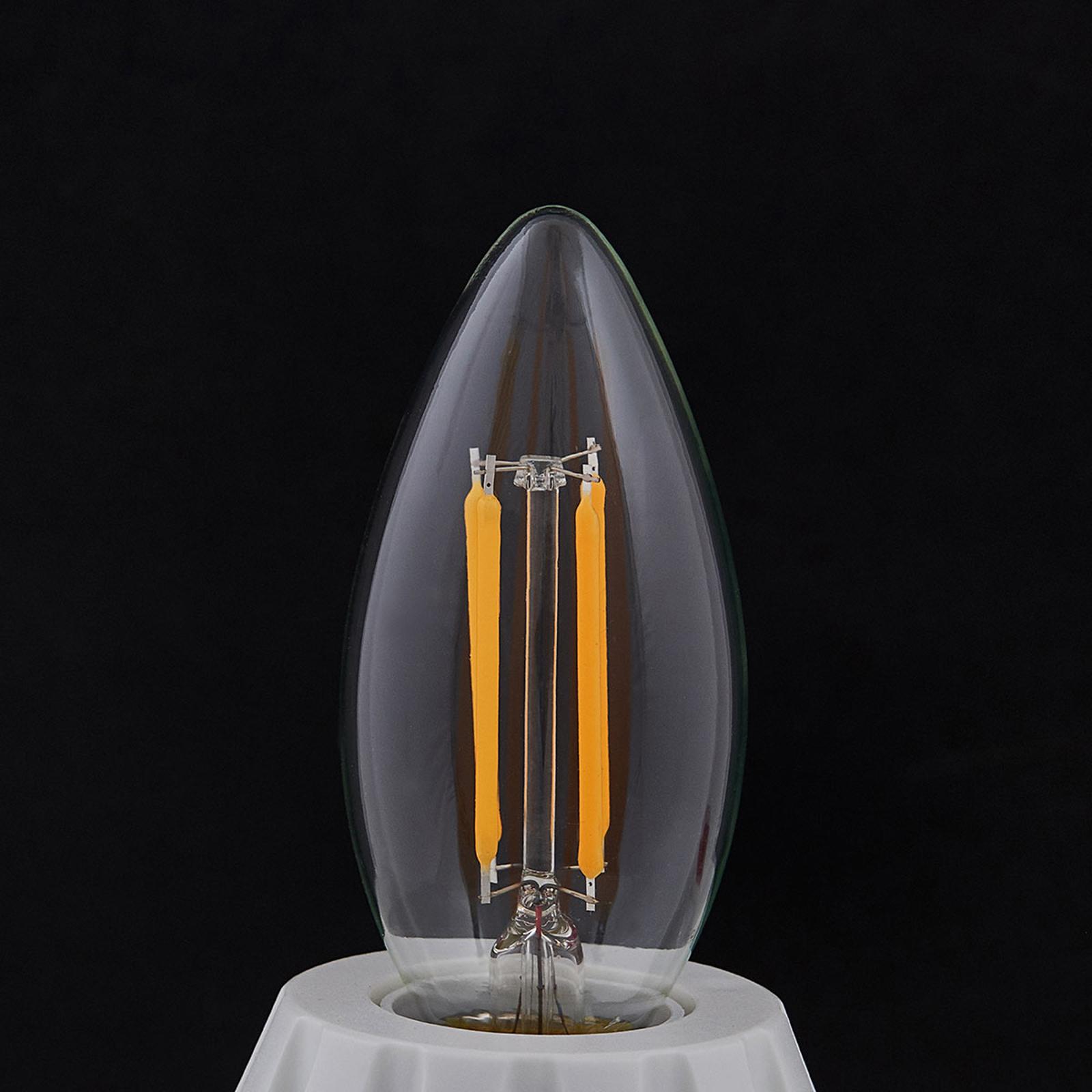 E14 LED-Kerzenlampe Filament 4W, 470 lm, 2.700 K