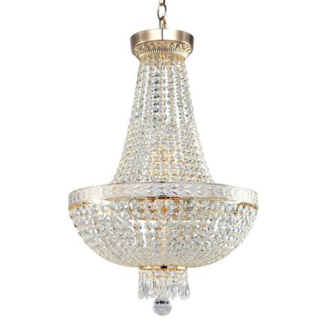 Lámpara de araña Bella con colgante elegante