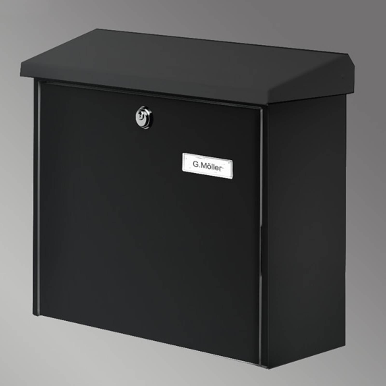 COMFORT letter box, black