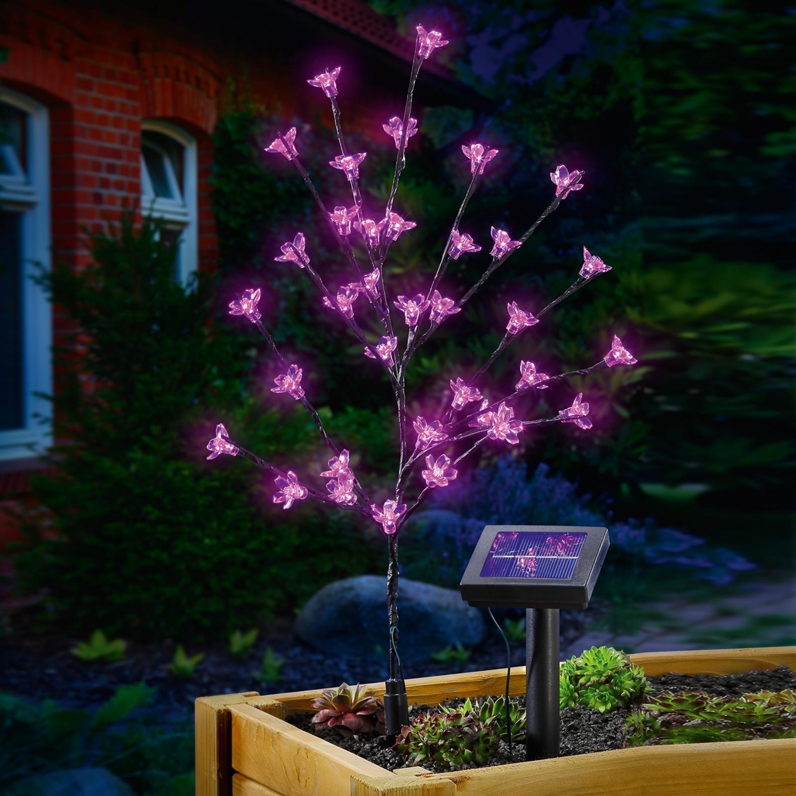 Solcelle-LED-blomsterbuket