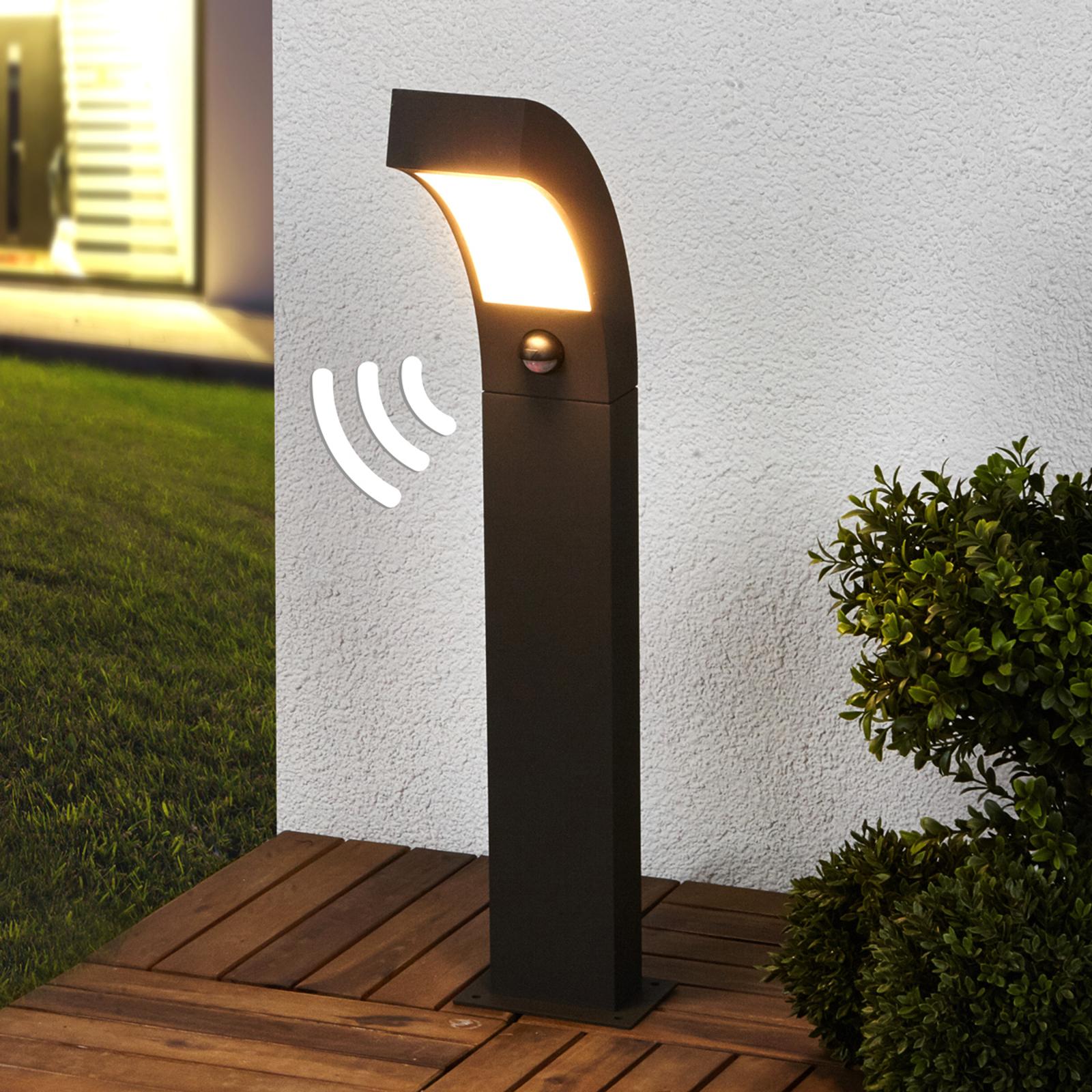 LED-sockellampa Lennik med rörelsedetektor