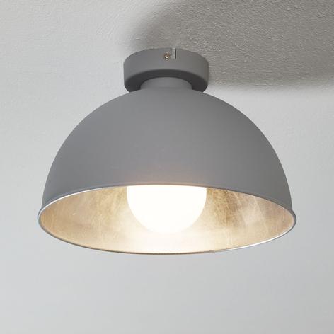 Kovové stropní světlo Jimmy šedá/stříbrná