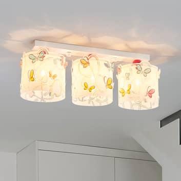 Taklampa Butterfly för barnrummet