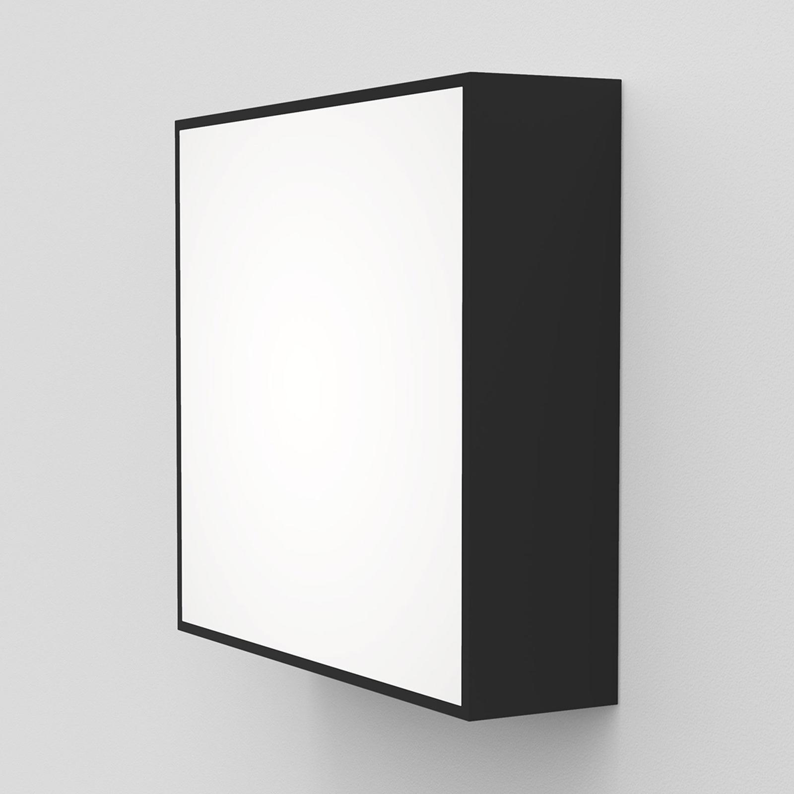 Astro Kea Square 240 LED-Wandleuchte schwarz