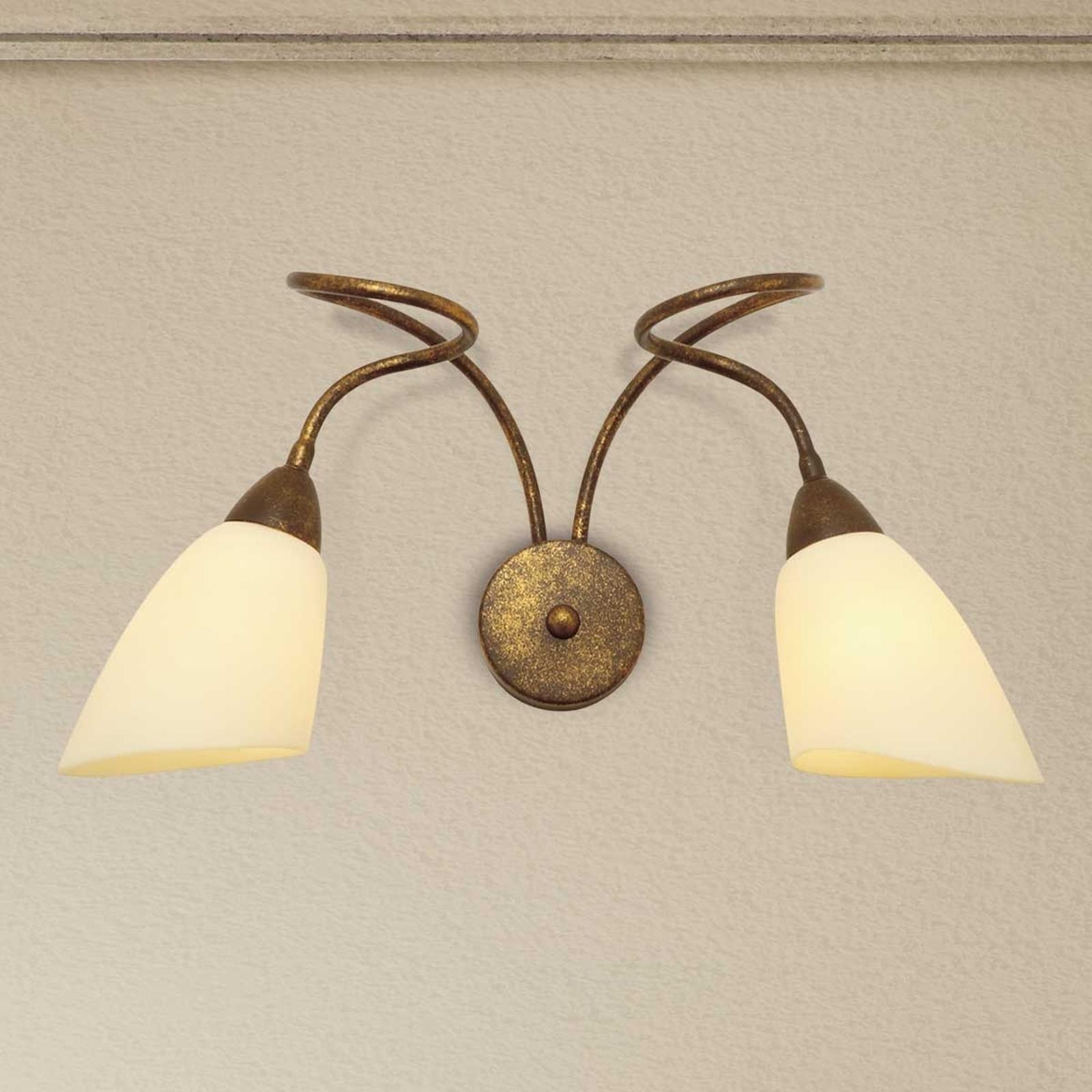 Applique Alessandro à 2 lampes
